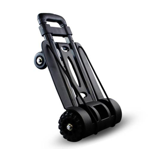 Compact 4-Wheels Trolley - Black
