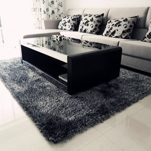 KOREA Polyester Luxury Carpet Floor Mat